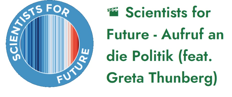 Scientists for Future - Aufruf an die Politik (feat. Greta Thunberg)
